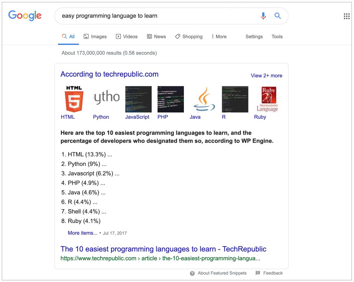 배우기 쉬운 프로그래밍 언어